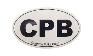 CPB Oval Sticker