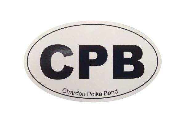 CPB Oval Sticker