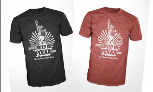 2018 United We Polka Tour T-Shirt