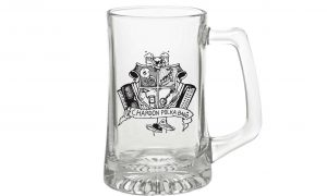 CPB Logo Glass Stein