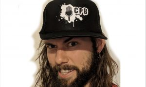 CPB Trucker Hat (Black/White)