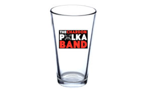 Polka Pint Glass