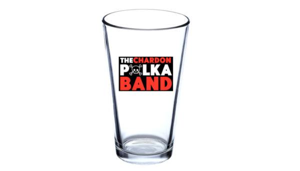 Polka Pint Glass